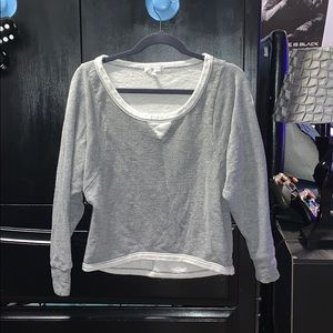 Grey just ginger long sleeve-t